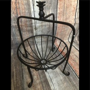 Other - Wrought iron look basket